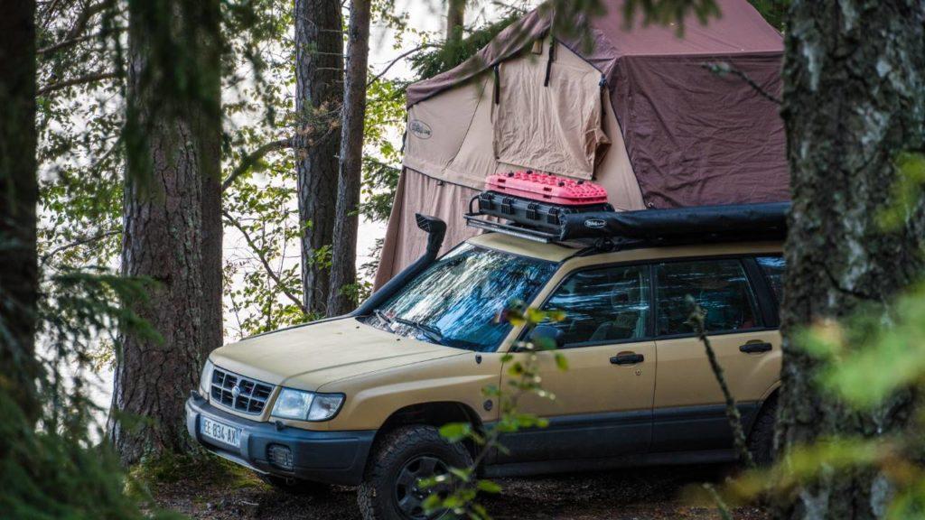 campspot roof top tent