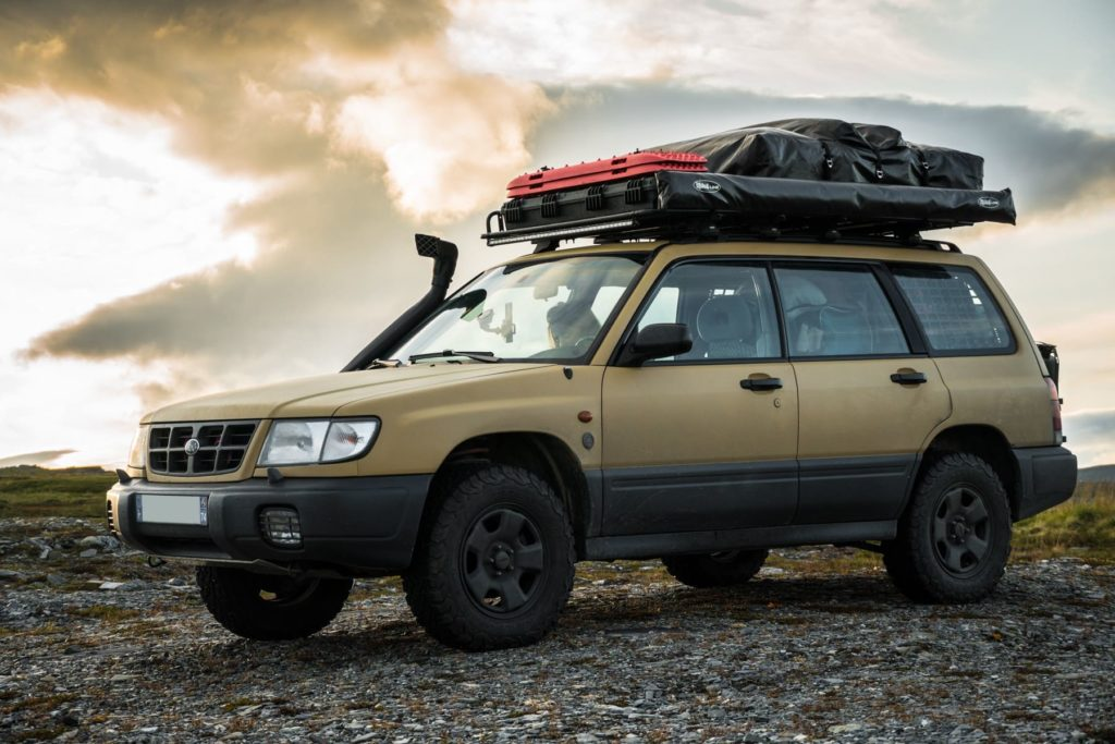 off road subaru forester