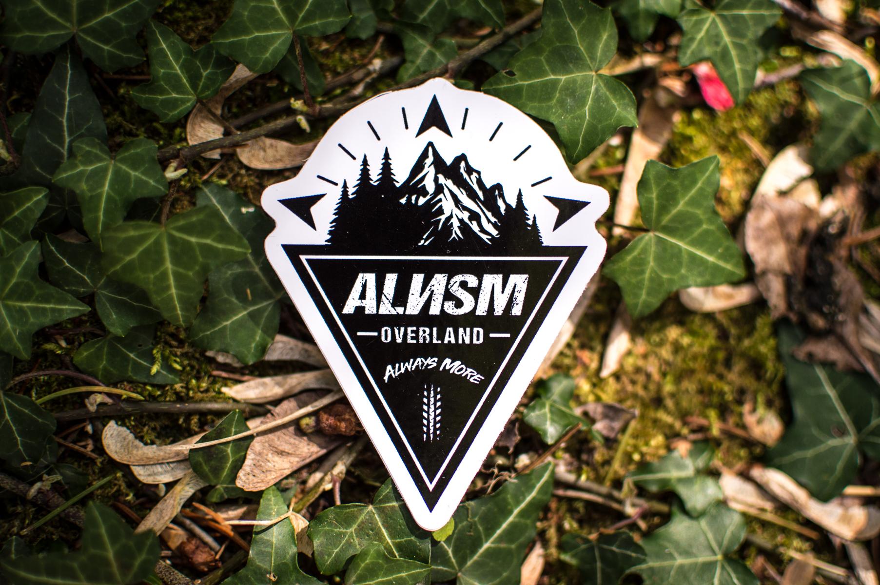 alnsm overland sticker