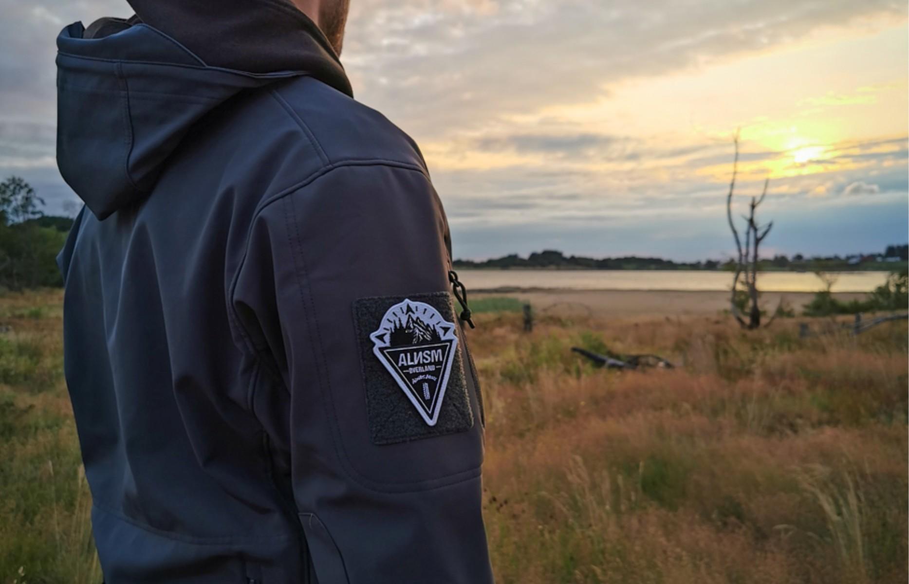 patch on tactical vest