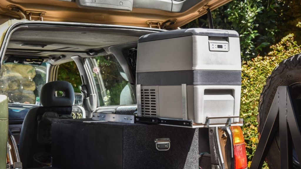 forester overland fridge slide